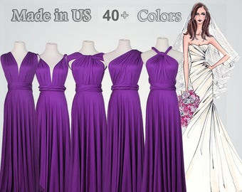 ada0cddf2e Purple bridesmaid