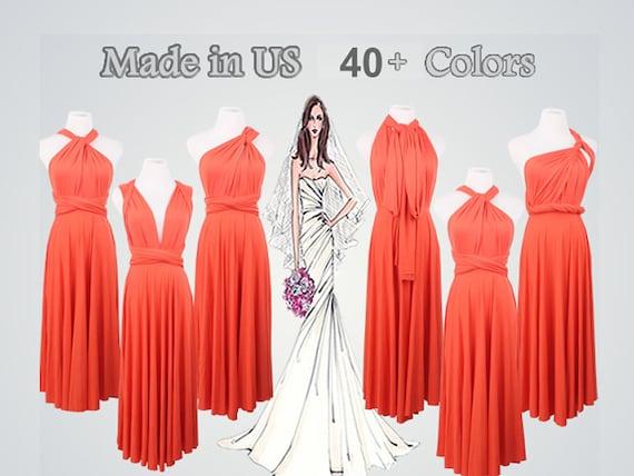 Coral Colored Formal Dresses Short