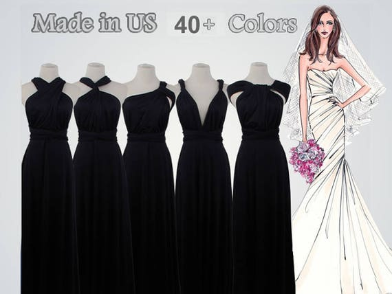 Black Infinity Dress