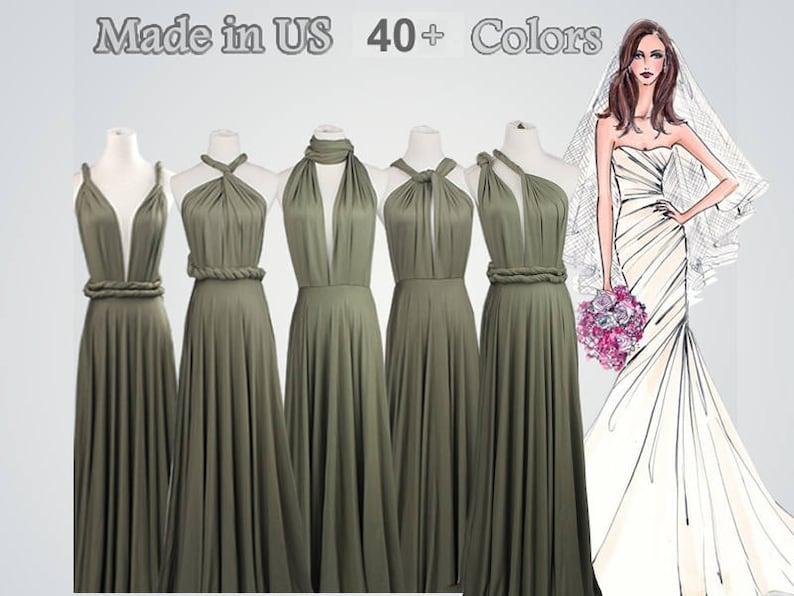 6e8e110e861 Long bridesmaid dress infinity bridesmaid dress long infinity