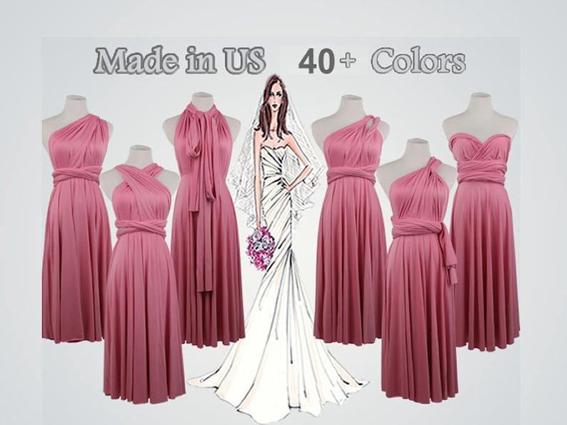 d8cf19f8ce9 Knee-Length Dark Pink Dress short bridesmaid dress short