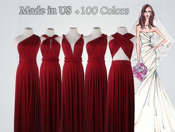 Bridesmaid Red Dress