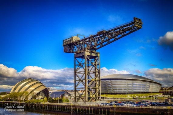 Glasgow, Scotland, Hydro, Riverside, River Clyde, Fine Art Photography, Wall Art, Wall Decor, Scottish Photography, Glasgow Print, City