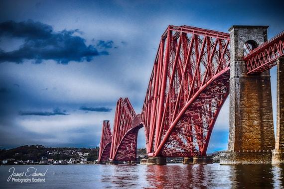 The Forth Bridge, Limited Edition, Landscape Photography, scottish print, wall art, fine art photography, river, scottish photography