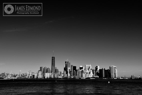 New York, Digital Download, New York Landscape, Black & White, Monochrome, NYC Print, NYC photography, Landscape, Cityscape, Monochrome,
