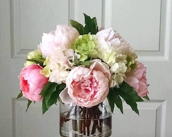 Flower arrangements etsy
