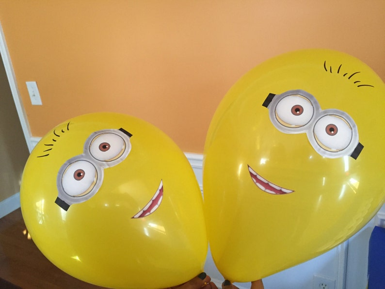 Minion Despicable Me Inspired Idea For Kids Birthday Party Etsy