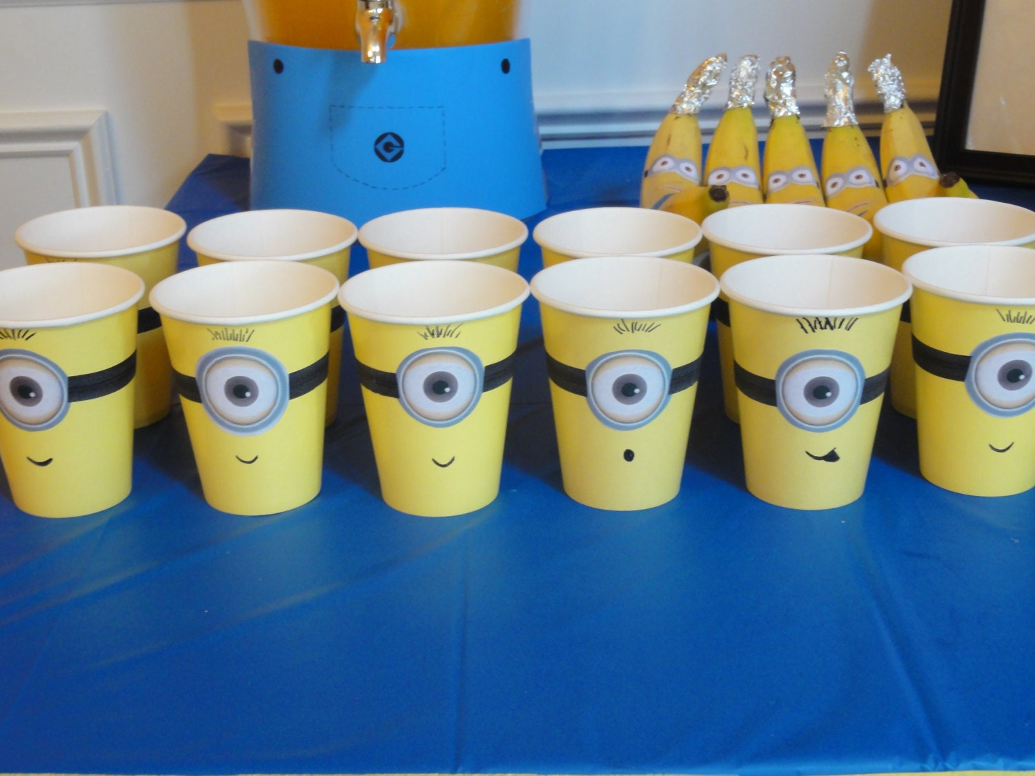 Minion Despicable Me Inspired Idea For Kids Birthday Party