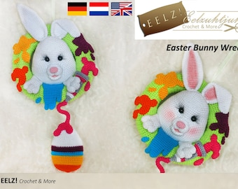 Easterbunny Wreath - Crochet Pattern