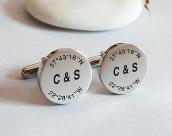 Cufflinks for groom | Etsy