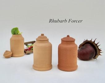 Miniature Rhubarb forcer 1:12