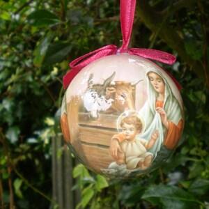 Nativité Noël Décoration Hanging Décoration arbre décoration