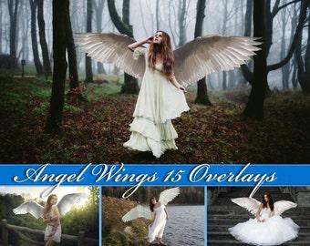 15 Angel Wings Overlays Photoshop Overlays Angel Wings Clip Art Angel Wings Overlay Angel Wings Clipart Angel Wings Photo Overlays Wings PNG