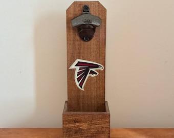 Wall Mounted Bottle Opener - Atlanta Falcons