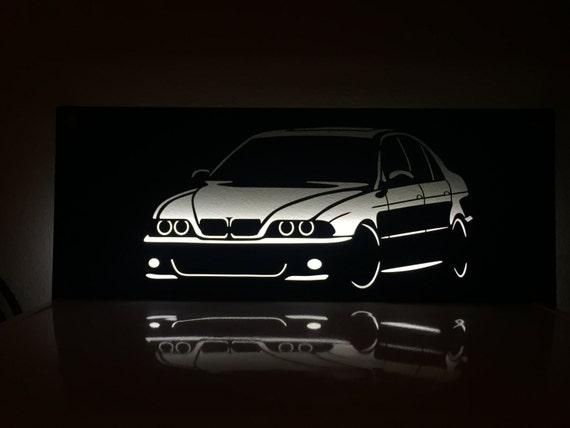 BMW E39 M5 >> Bmw E39 M5 Backlit Wall Sign