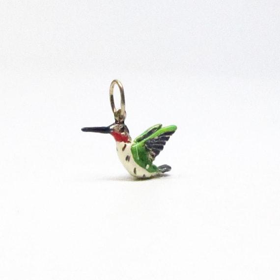 kolibri vogel anh nger sterling silber vogel geschenke f r etsy. Black Bedroom Furniture Sets. Home Design Ideas