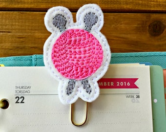 Knitting Needles and Yarn Planner Paper Clip!  Crafty Planner Clip Gold Bookmark Knitter Stationery Gift Feltie Paperclip