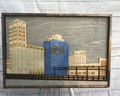 Buffalo New York Silo 3D Wall Piece