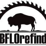 blank wooden buffalo deposit