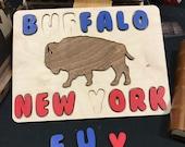 Buffalo New York Kid Puzzle