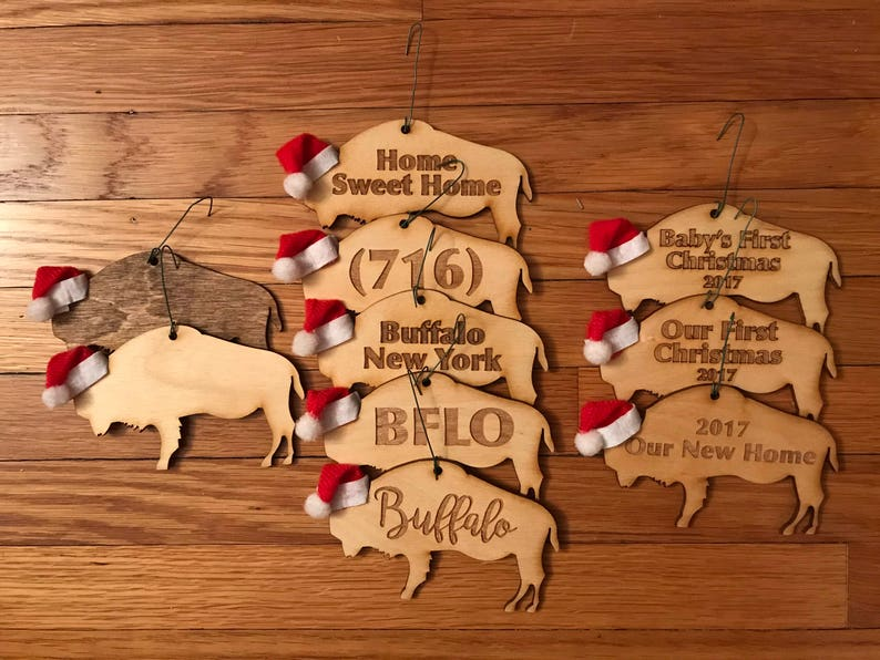 Buffalo NY Ornaments image 0
