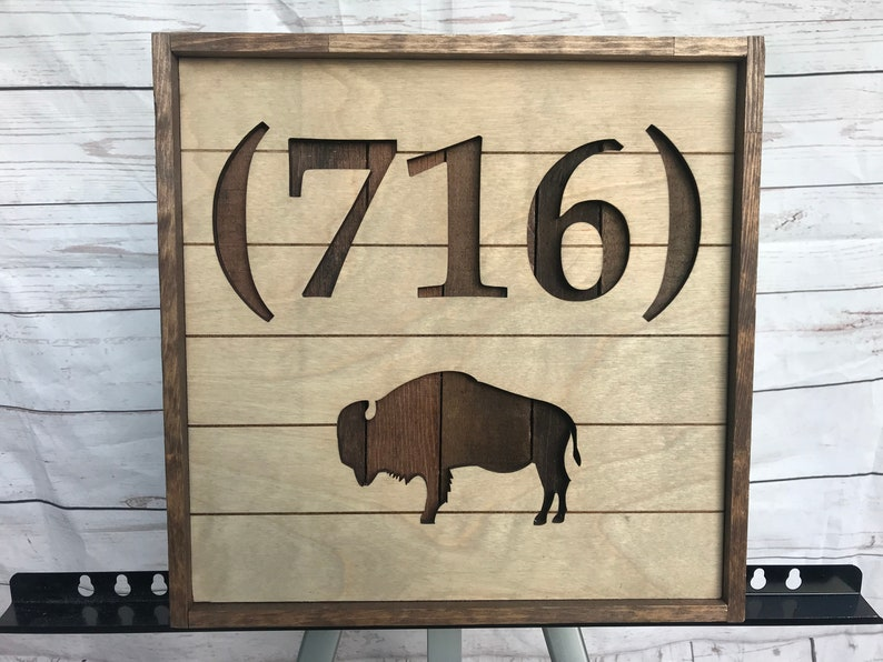716 rustic buffalo wall decor image 0