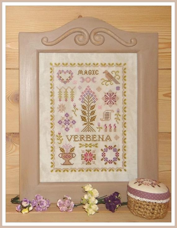 Magic Verbena Cross stitch kit