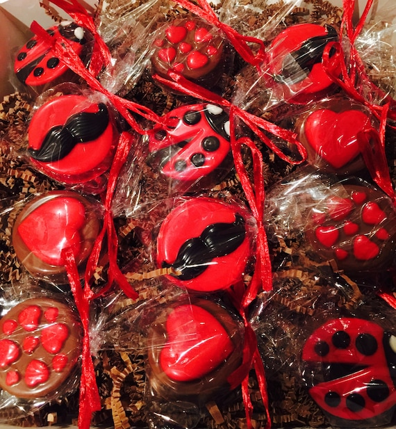 Valentine S Day Chocolate Covered Oreos Our 12pc Etsy