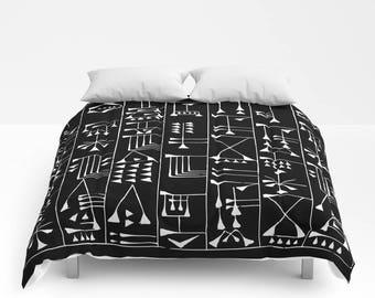 Bohemian Comforter Full Queen King Duvet Tribal Pattern Etsy