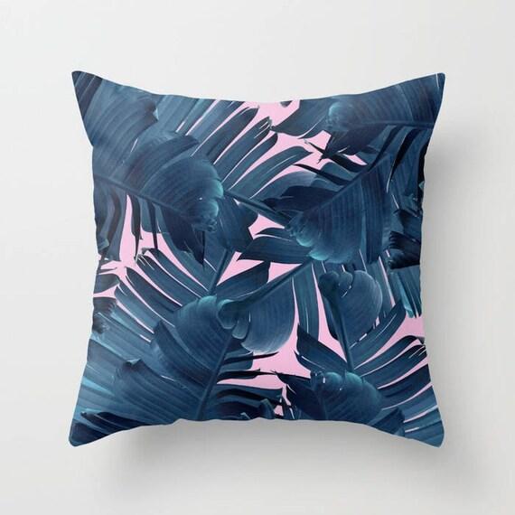 Throw Pillow Cushion Cover Banana Leaf