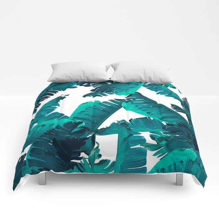 teal duvet cover full queen king duvet coastal bedroom etsy. Black Bedroom Furniture Sets. Home Design Ideas