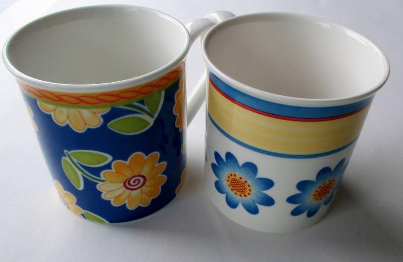 Villeroy Boch Tannenbaum.Set Of 2 Villeroy Boch Mugs Sunflower Mug Flower Mug Twist Dora And Twist Clea Mugs