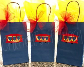 Daniel Tiger Birthday Party Favor Gift Bags - Set of 3