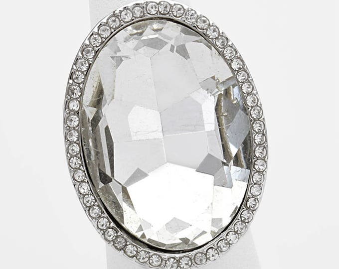 Colette Bikini Fitness Competition Crystal Stretch Ring for IFBB, NPC, and OCB