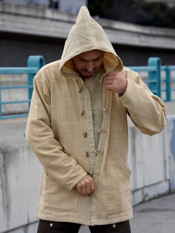 Veste Vêtements À Homme Chemise Pour Longues Chanvre100Hoodie De En Manches Nnmvw80