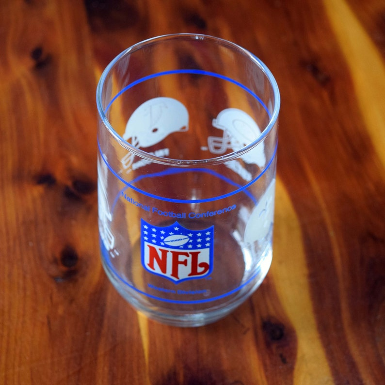 ea88cafd NFL Western Division Collectors Drinking Glass/New Orleans Saints/San  Francisco 49ers/Atlanta Falcons/Los Angeles Rams/1977 - 1994 Division