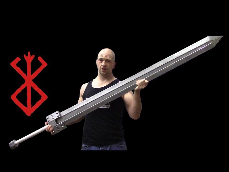 Guts' Golden Age Sword from Berserk anime/manga. Handmade image 0