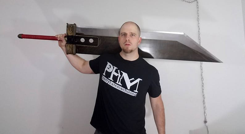 Crisis Core style Buster Sword from Final Fantasy 7 Cloud image 0