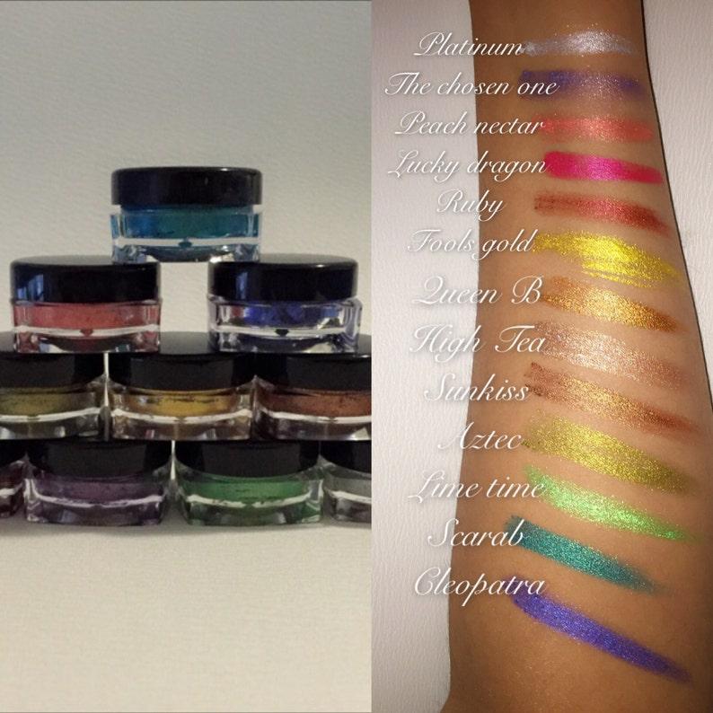 Multi paste long lasting semi-matte metallic makeup image 0