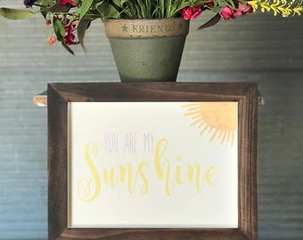 You Are My Sunshine Wall Hanging, Sign