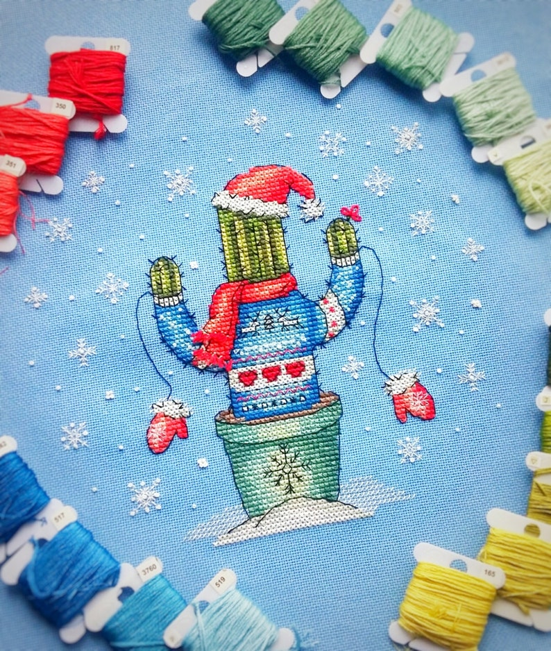 a6fad8575e4372 Christmas Cross Stitch Pattern.UGLY SWEATER modern winter