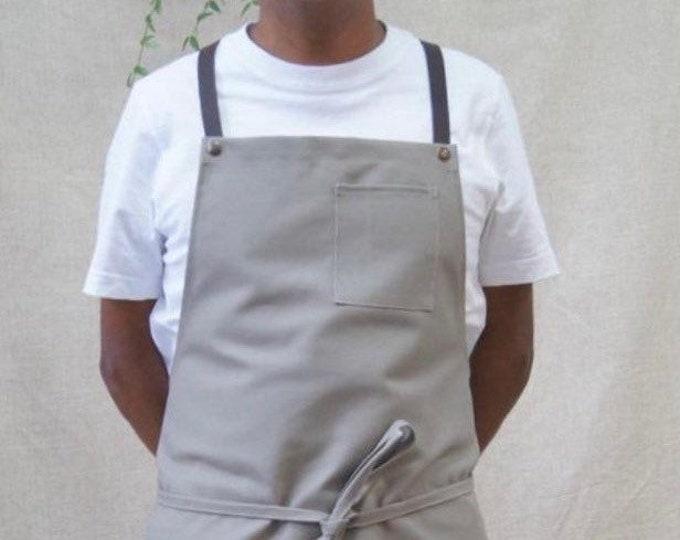 Cross-strap apron