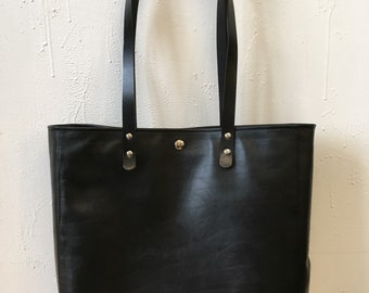 Bag tobead, leather tote