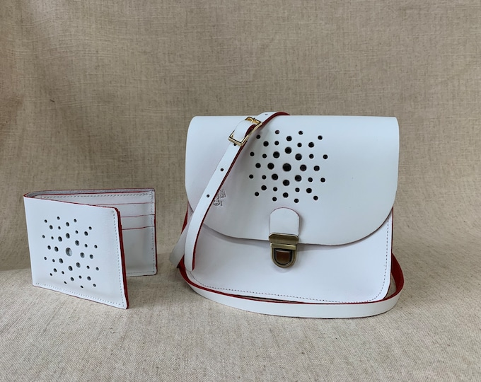 Duo Small bag and leather wallet