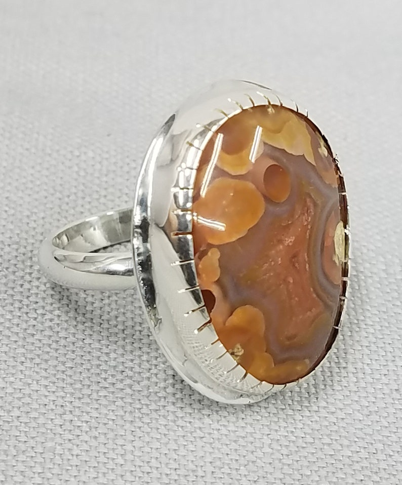 Laguna Agate Sterling silver Ring 148 image 0