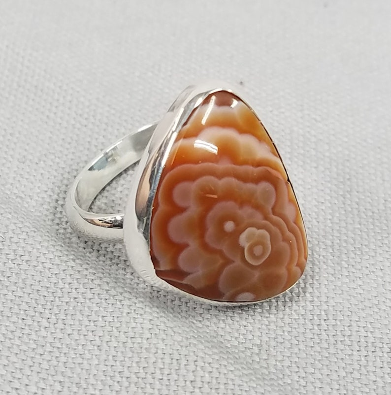 Laguna Agate Sterling Silver ring 169 image 0