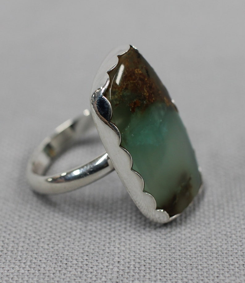Australian Chrysopace sterling silver ring 16 image 0