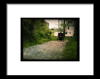 Amish Paradise...Signed & Matted Color Fine Art Photograph