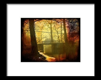 North Webster Bridge...Signed & Matted Color Fine Art Photograph