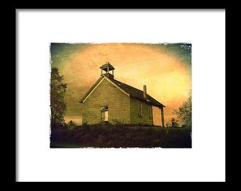 Church at Dusk...Signed & Matted Color Fine Art Photograph